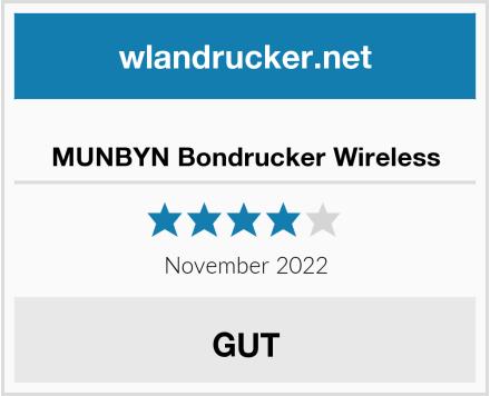 No Name MUNBYN Bondrucker Wireless Test