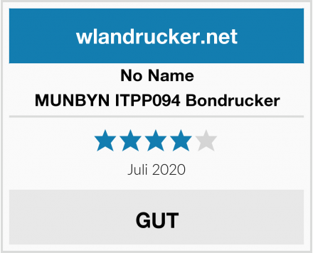 No Name MUNBYN ITPP094 Bondrucker Test