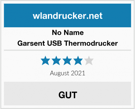 No Name Garsent USB Thermodrucker Test