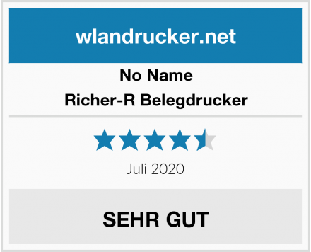 No Name Richer-R Belegdrucker Test