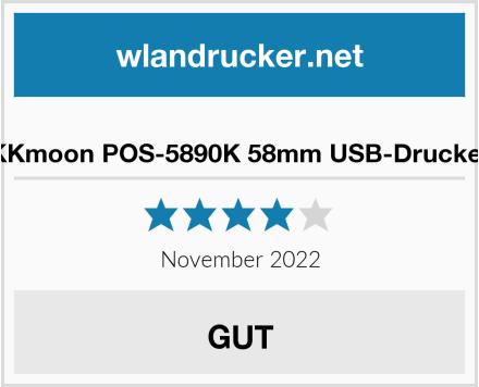 No Name KKmoon POS-5890K 58mm USB-Drucker Test