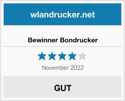 No Name Bewinner Bondrucker Test
