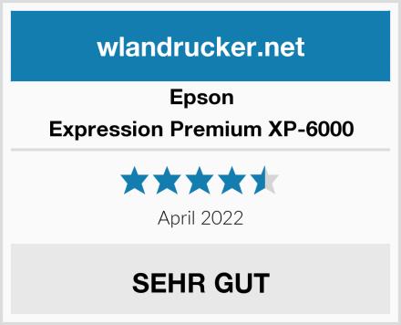 Epson Expression Premium XP-6000 Test