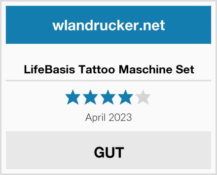 No Name LifeBasis Tattoo Maschine Set Test