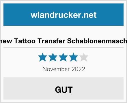 No Name Sonew Tattoo Transfer Schablonenmaschine Test