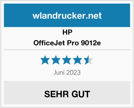 HP OfficeJet Pro 9012e Test
