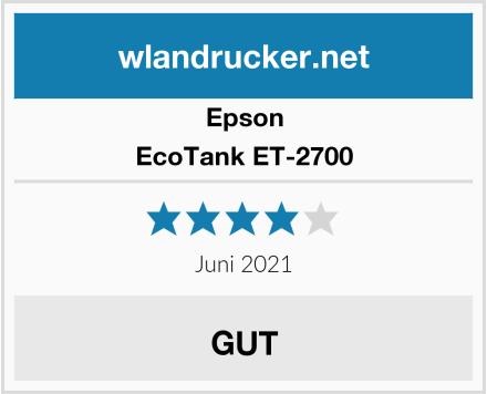 Epson EcoTank ET-2700 Test