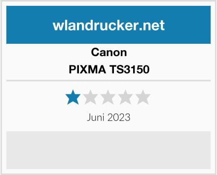 Canon PIXMA TS3150 Test