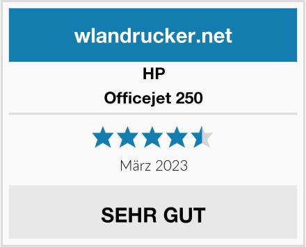 HP Officejet 250 Test