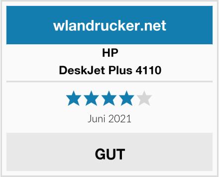 HP DeskJet Plus 4110 Test