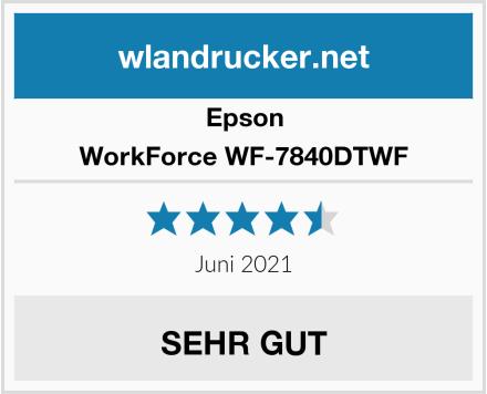 Epson WorkForce WF-7840DTWF Test