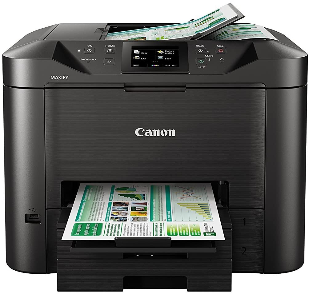 Canon MAXIFY MB5450 Farbtintenstrahl Drucker | WLAN ...