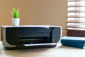 Drucker Steht Auf Offline
