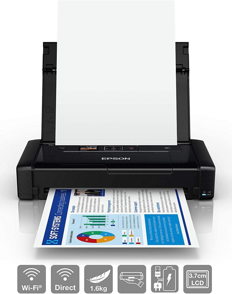 Epson WorkForce WF-110W Tintenstrahldrucker | WLAN Drucker