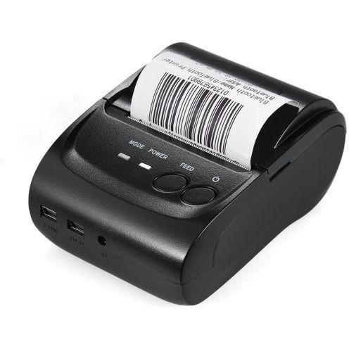No Name Aibecy POS-5802DD tragbare Mini-Bluetooth-USB-Thermodrucker